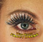 70'S FANCY DRESS ACCESSORIES # HOLOGRAPHIC EYELASHES